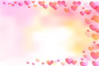 母の日 バレンタイン ハート 背景