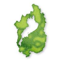 滋賀 地図 緑 アイコン