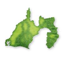 静岡 地図 緑 アイコン