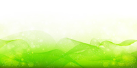新緑 曲線 波 背景