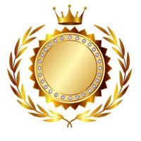 王冠 メダル 金 アイコン