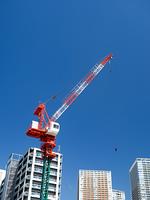 高層ビルの建設工事