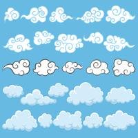 雲のアイコンセット