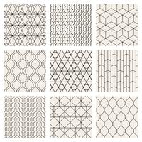 地紋 幾何学模様 セット