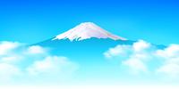富士山 日本 空 風景