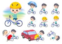 blue clothing boy_city cycle