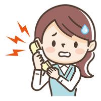 女性 電話 困る