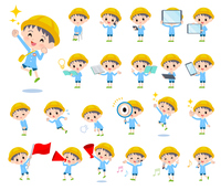 Nursery school boy_Action