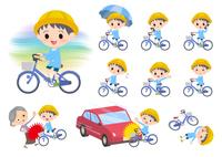 Nursery school boy_city cycle