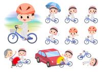 Arab boy_city cycle