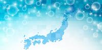 日本 地図 水 背景