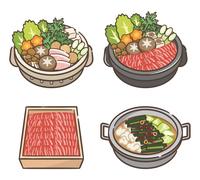 寄せ鍋 すき焼き セット