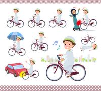 flat type Arab boy_city cycle