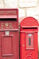アンティークの郵便ポスト