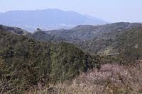 西吉野の山並み