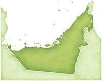 UAEの地図