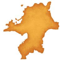 福岡県の地図