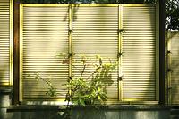 和風の竹柵