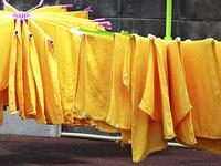美容室のタオル
