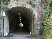 一車線のトンネル