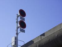 高速道路の制限速度標示板