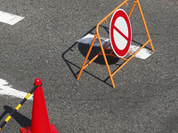 交通規制の標識