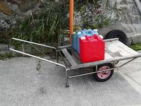 灯油を運ぶ台車