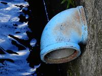 生活排水路と配水管