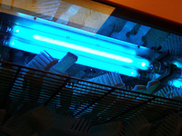 ブラシの紫外線殺菌