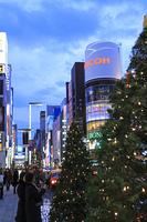 銀座クリスマス夜景
