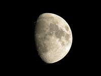 十日夜の月