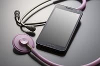 スマートフォンと聴診器