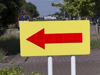 矢印の標識