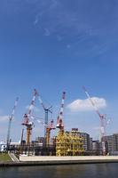 ビル建設現場
