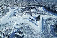 真冬の函館奉行所