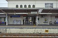 JR水戸線 下館駅ホーム