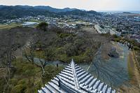 館山城天守からの南西向きの眺め