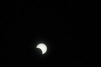 金環日食  08:25:37