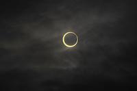 金環日食  07:36:08