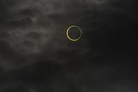 金環日食  07:36:55