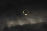 金環日食  07:37:34