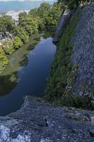 藤堂高虎の上野城跡に残る日本一高い石垣
