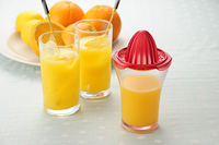オレンジジュース絞り器