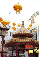 中華街の東屋