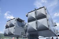 護衛艦の対空ミサイルランチャー