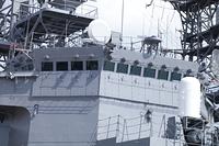 護衛艦の艦橋