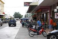 タイ南部の街並み