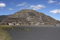 メキシコシティ テオティオワカン