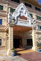 シェムリアップ ホテル入口