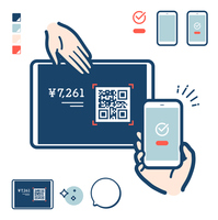 cashless_tablet QR payment